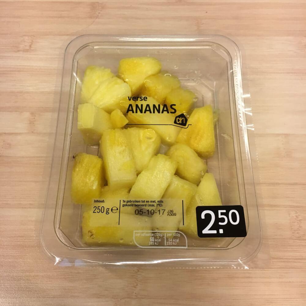 Afvallen met ananas