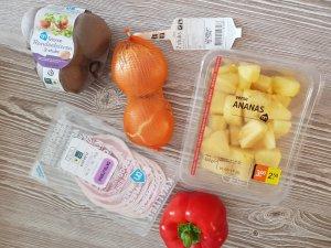 Eerste keer vader-groente-gezond