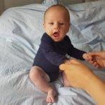 Baby rechtop zitten