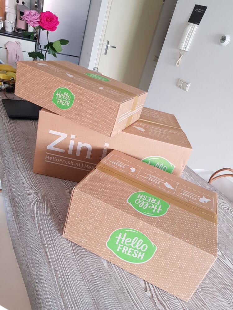 Levering HelloFresh