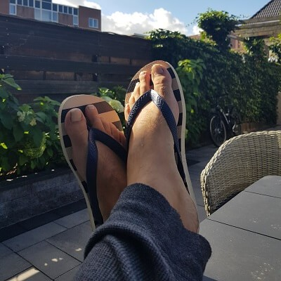 Nieuwe slippers