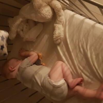 Baby verkouden