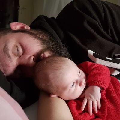 Band tussen vader en kind