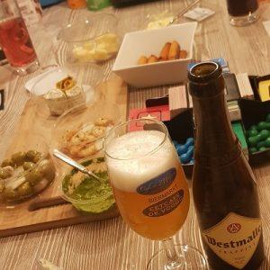Borrelhapjes met bier
