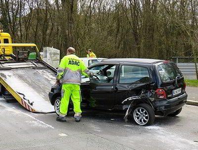 Autoschade in het buitenland