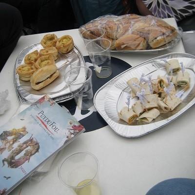 Eten op de Blogboot