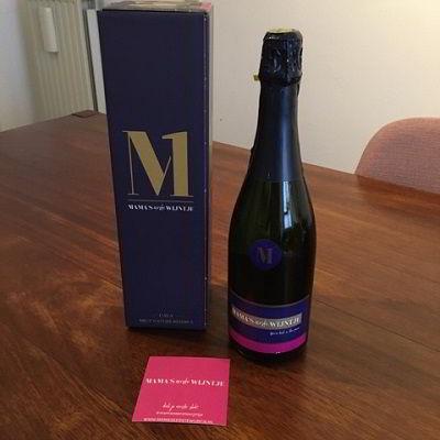 Originele kraamcadeaus - Mama's eerste wijntje