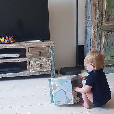 Eigen zaak met kind thuis