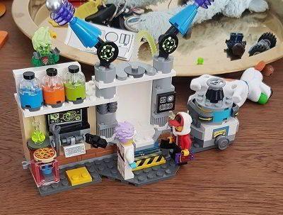 LEGO Hidden Side J.B.'s Spooklab