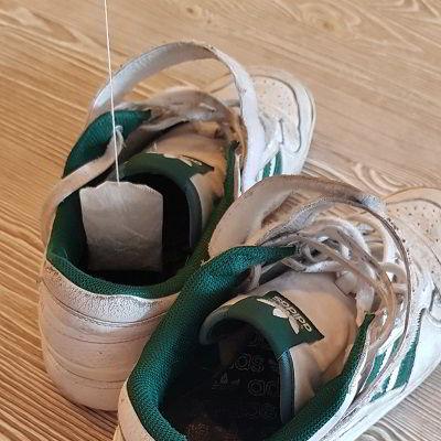 Stink schoenen tegengaan met theezakjes