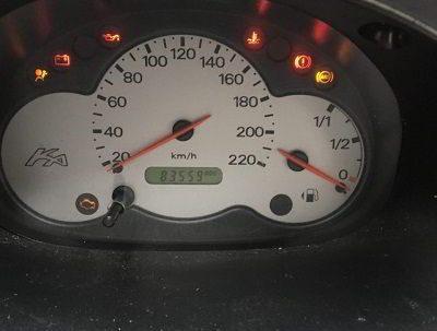 Oranje lampje in dashboard niet negeren