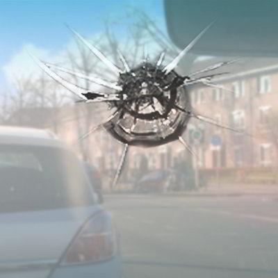 Sterretje in ruit auto gevaarlijk