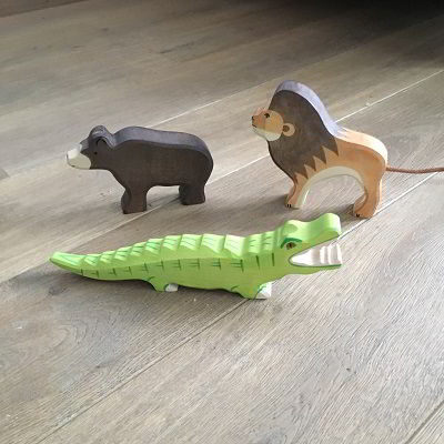 Wilde dieren van Holztiger besteld bij Houtspel