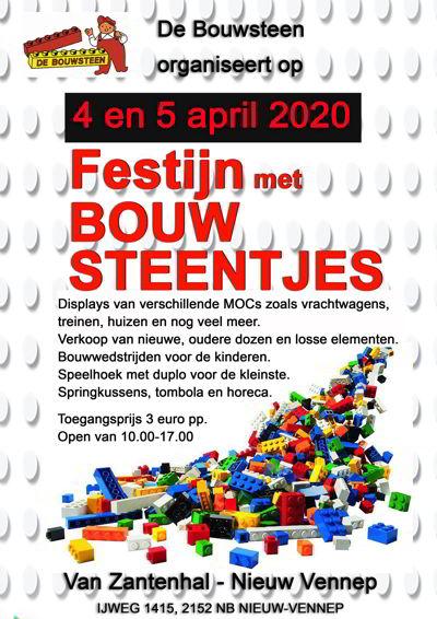 Legobeurs Nieuw Vennep,Festijn met bouwsteentjes