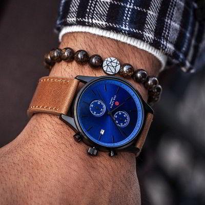 Sem Lewis horloge, Sem Lewis armband