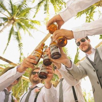 Bretels bruiloft