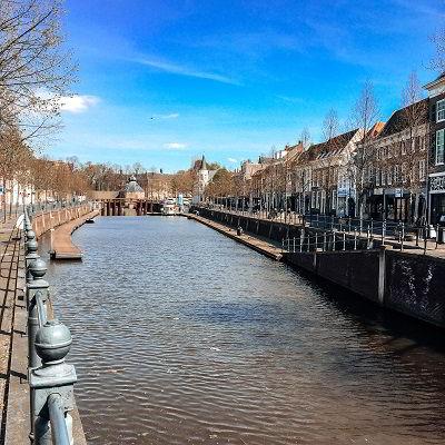 Haven Breda richting het Spanjaardsgat