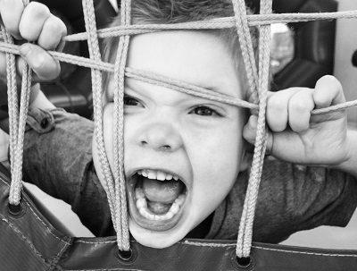 Kind dealen met stress