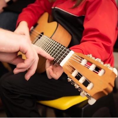 Instrument spelen als hobby